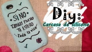 getlinkyoutube.com-Diy funda para el movil #3 | Funda de silicona by Tamara Mortes