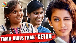 Tamil girls Vs Mallu Girls   Priya Prakash Varrier's Wink, Jimmiki Kammal Sheril