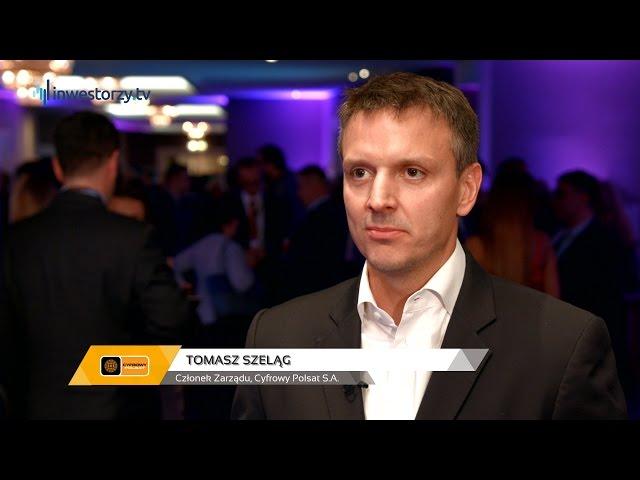 Tomasz Szeląg, Członek Zarządu, Cyfrowy Polsat S.A., #7 PREZENTACJE WYNIKÓW