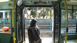 getlinkyoutube.com-港鐵巴士 MTR Dennis Trident #601@506 Deans落車門開關過程
