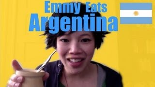getlinkyoutube.com-Emmy Eats Argentina - How to Make Yerba Mate