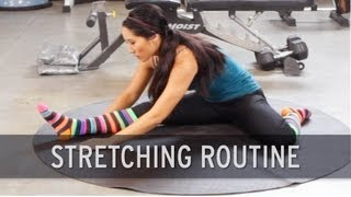 getlinkyoutube.com-Stretching Routine: Warm Up Exercises