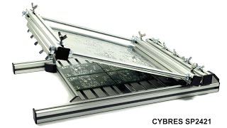 CYBRES SP2421 stencil printer for fine-pitch surface mount assembly