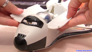 getlinkyoutube.com-Cars Toons Talking Roger the Space Shuttle with Autonaut Mater DVD Air Moon Mater