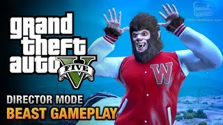getlinkyoutube.com-GTA 5 - Play as the Beast [Director Mode Gameplay]