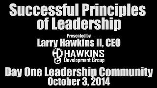 Day One Leadership Community - October 3, 2014 | HawkDG