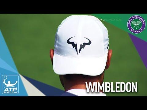 Nadal Practises At Wimbledon 2017