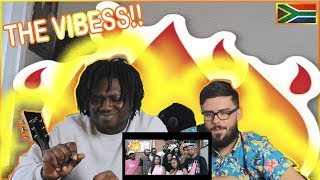 TSHEGO - THE VIBE [feat CASSPER NYOVEST] || Americans react to African Music *Birthday Edition* width=