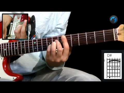Aula T�cnica para Iniciantes - C.A.G.E.D - Parte 2 (aula de guitarra)