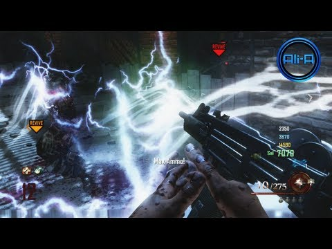 "Black Ops 2 ""MOB OF THE DEAD"" GAMEPLAY - Call of Duty Black Ops 2 Zombies PART 2 (UPRISING Map Pack)"