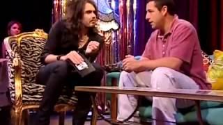 getlinkyoutube.com-Russell Brand and Adam Sandler - funniest interview ever!