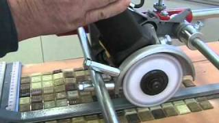 getlinkyoutube.com-Electric tile saw for Mosaic and Tiles