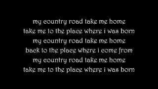 Country Road - The LACS Lyrics