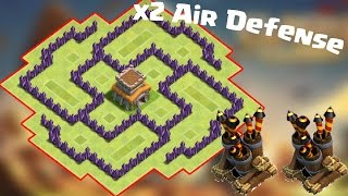 """getlinkyoutube.com-Clash Of Clans - """"Whirlwind"""" (AWESOME Townhall 6 (TH6) HYBRID / FARMING BASE!) - New 2016 HD"""