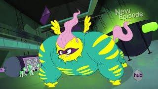 getlinkyoutube.com-Flutterhulk - Power Ponies scene