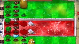 getlinkyoutube.com-Vamos a jugar: a Plantas vs Zombies Edicion Halloween 3-9