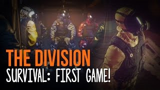 getlinkyoutube.com-SURVIVING THE STORM! | First Survival Match in The Division