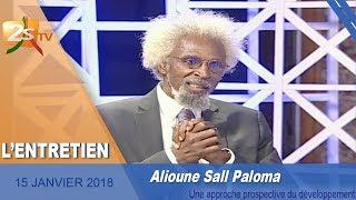 2STV - L'ENTRETIEN AVEC ALIOUNE SALL PALOMA