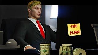 TRUMPS EVIL PLAN! - GTA 5 Skit