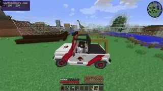getlinkyoutube.com-Minecraft : Jurassic Craft - Bölüm 29 - DEV AKVARYUM!!