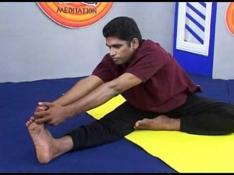 Yoga Asanas - Maha Mudra