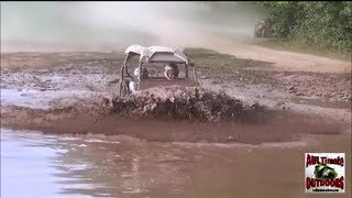 getlinkyoutube.com-TEENAGE GIRLS WITH DAD'S POLARIS RZR = DISASTER!!!!!! TALL PINES ATV PARK