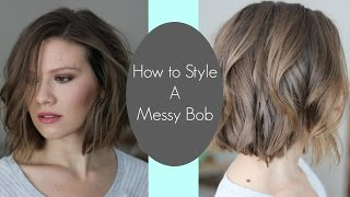 getlinkyoutube.com-How I Style My Messy Bob // Laura's Natural Life