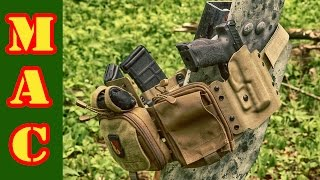 High Threat Concealment Low-Pro Gun Rig