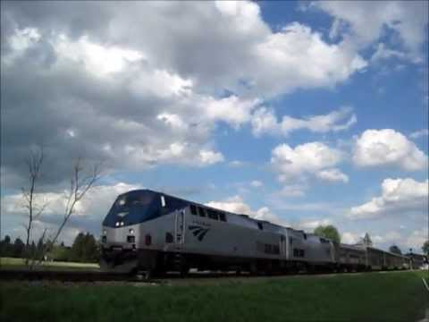 Talgo through Dupy! (and #7 & CN) 5-21-13