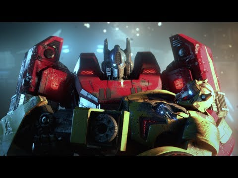 Transformers: Fall of Cybertron - VGA 2011: WORLD PREMIERE Debut Trailer (EN+DE)