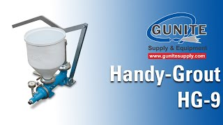 getlinkyoutube.com-grout pump, grouting pump, grout pumps, Airplaco Handy Grout model HG-9 grout pump