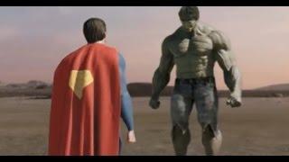 getlinkyoutube.com-Супермен против Халка. Часть 1