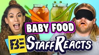getlinkyoutube.com-GUESS THAT FOOD CHALLENGE #4 - BABY FOOD! (ft. FBE STAFF)