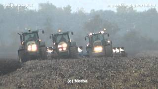 getlinkyoutube.com-Plowing / Ploughing / Szántás - John Deere 6630, 7720, 7820, 8320, Fendt 936 in Hungary 2011