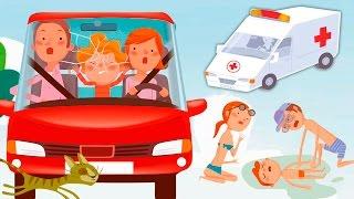 getlinkyoutube.com-Мультики про машинки и БЕЗОПАСНОСТЬ Для детей! Мультфильмы 2017 года. Развивающее видео Анимашка