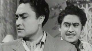 Ashok Kumar pretends unknown to Kishore Kumar | Bhai Bhai - Scene 6/15 width=