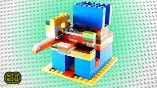 getlinkyoutube.com-How to Build a Lego Candy Machine Mechanism with 2 Options