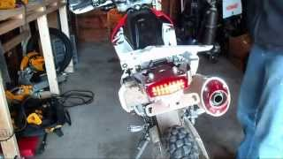 getlinkyoutube.com-CRF250L 12 O'clock Labs DRC Taillight