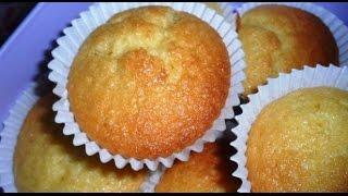 getlinkyoutube.com-Mini cakes au citron / Lemon cupcakes / اكواب الكيك بالليمون - الحامض