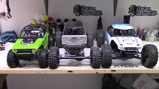 getlinkyoutube.com-RCTogether * Axial Yeti vs Wraith vs SCX10 Comparison