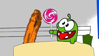 getlinkyoutube.com-Раскраска с Ам Нямом - Учим цвета! - Мультфильмы для детей (мультик 1)