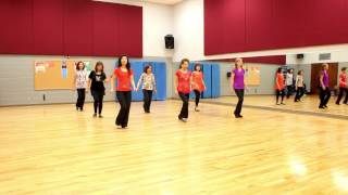 getlinkyoutube.com-Another Time Song - Line Dance (Dance & Teach in English & 中文)