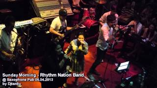getlinkyoutube.com-[HD] Sunday Morning - Rhythm Nation Band @ Saxophone Pub 06.04.2013