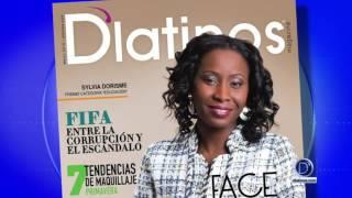 D'latinos Magazine edición de Marzo por Ethel Palací
