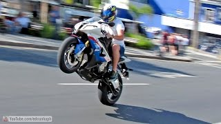 getlinkyoutube.com-Best of Bikers 2014 - Superbikes Burnouts, Wheelies, Revvs and loud exhaust sounds!