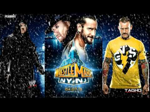 2013: WWE Wrestlemania XXIX 3rd Theme Song Undertaker Vs