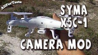 getlinkyoutube.com-Syma X5C-1 Camera Mod