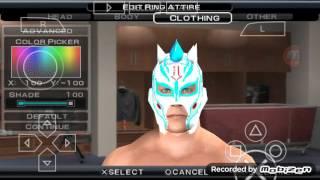 getlinkyoutube.com-WWE SVR 2011(PSP) KALISTO CAW LUCHA LUCHA