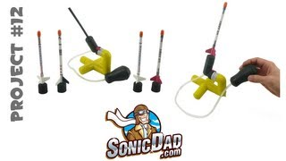 getlinkyoutube.com-Mini Stomp Rocket - SonicDad Project #12