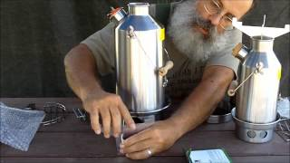 getlinkyoutube.com-Kelly Kettle Survival & Camping Stove, Review and Demonstration